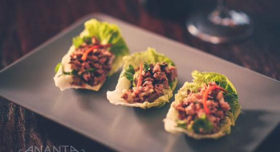 Lettuce & Crispy Duck Wraps